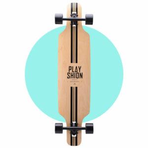 Playshion Drop Through Longboard 39″ – Line